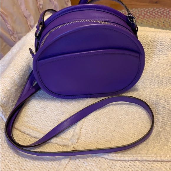 Coach Handbags - Coach • cross body, canteen bag EUC